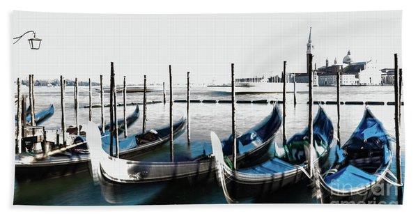 Venezia High-key, Italy Bath Towel