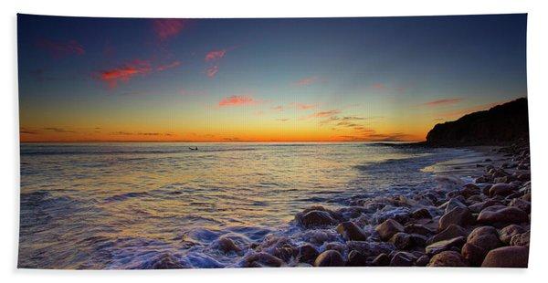 Ventura Sunset Bath Towel
