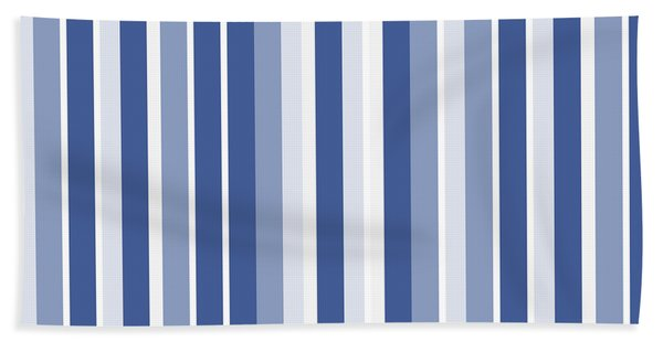Vertical Lines Background - Dde605 Bath Towel