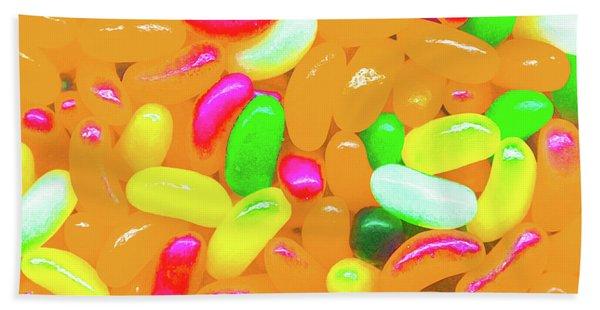Vibrant Jelly Beans Bath Towel