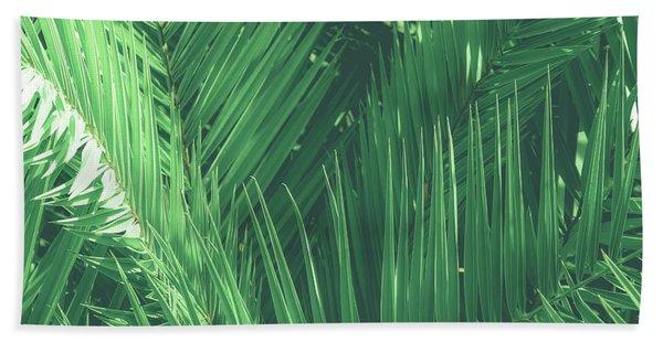 Vintage Palms I Hand Towel