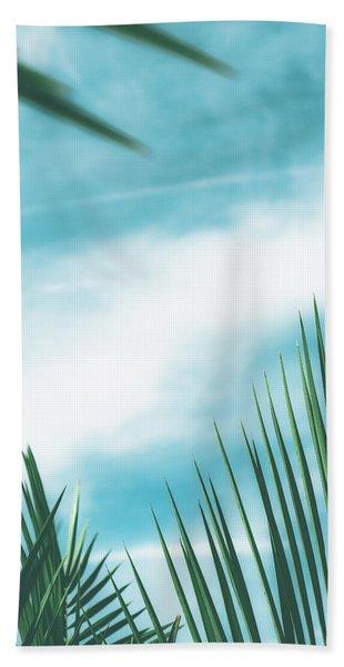 Vintage Palms II Hand Towel