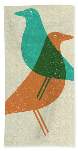 Vitra Eames House Birds II Hand Towel