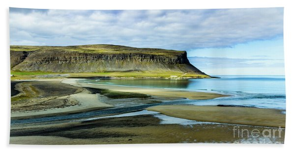 Westfjords, Iceland Bath Towel
