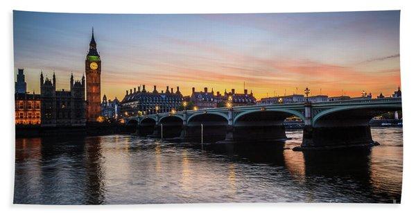 Westminster Sunset Hand Towel
