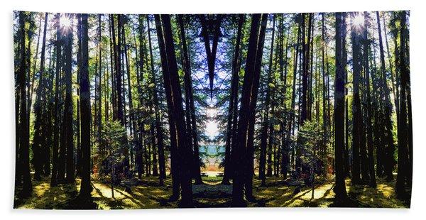 Wild Forest #1 Hand Towel
