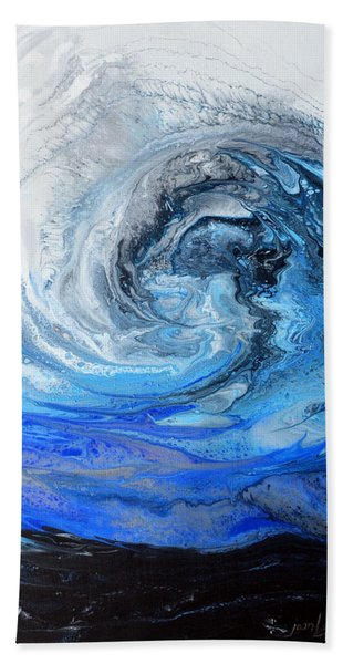 Wind And Wave Hand Towel