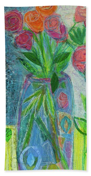 A-rose-atherapy Hand Towel
