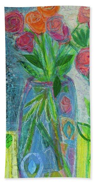 A-rose-atherapy Bath Towel