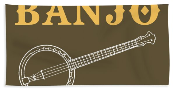 Without The Banjo Life Would Bb Hand Towel