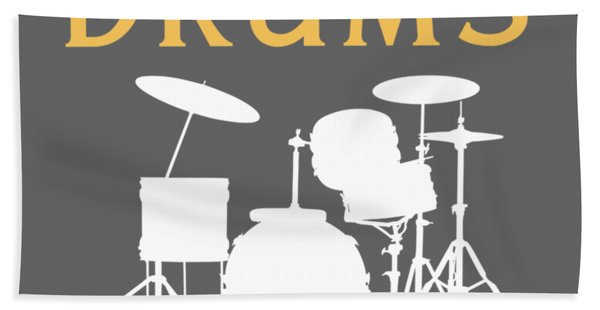 Without The Drum Life Would Bb Hand Towel