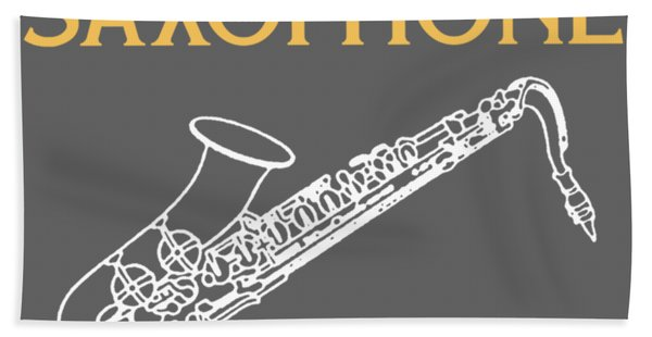 Without The Saxophone Life Would Bb Hand Towel