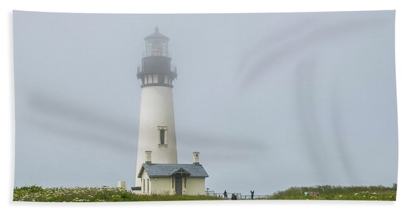 Yaquina Head Lighthouse  Hand Towel