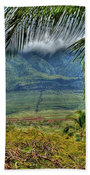 Maui Foot Hills Beach Sheet