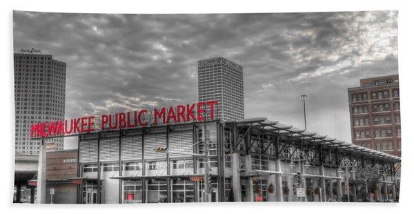 0038 Milwaukee Public Market Beach Towel