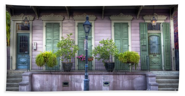 0267 French Quarter 5 - New Orleans Beach Towel