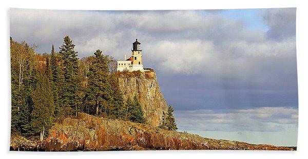 0376 Split Rock Lighthouse Beach Towel