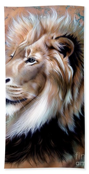 Copper King - Lion Beach Towel