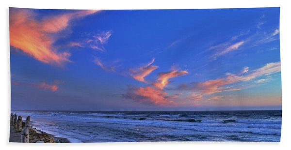 Great Highway Sunset Beach Towel