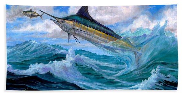 Marlin Low-flying Beach Towel