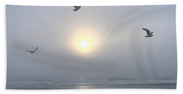 Moment Of Grace Beach Towel