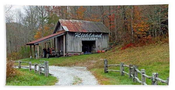 Richland Creek Farm Barn Beach Sheet