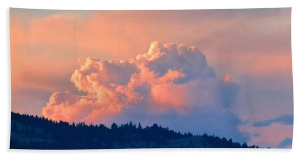 Soothing Sunset Beach Towel