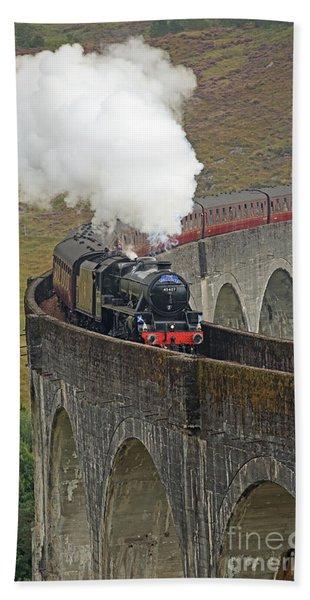The Jacobite Steam Train Beach Sheet