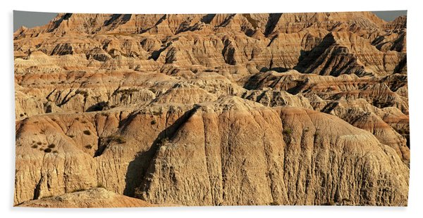 White River Valley Overlook Badlands National Park Beach Towel