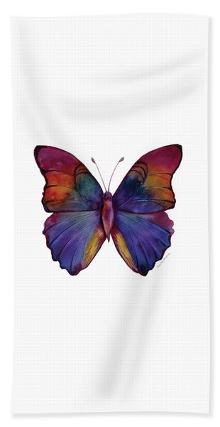 13 Narcissus Butterfly Beach Towel