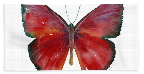 16 Mesene Rubella Butterfly Beach Towel