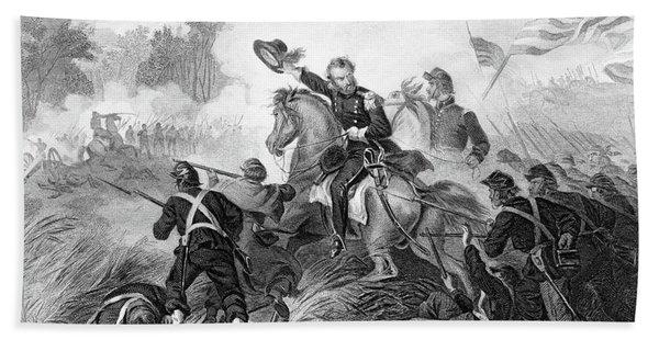 1860s August 1861 Battle Of Wilsons Beach Towel