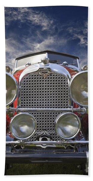 1928 Auburn Model 8-88 Speedster Beach Towel