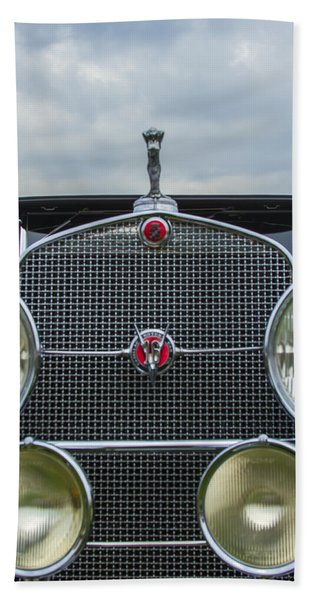 1930 Cadillac V-16 Beach Towel