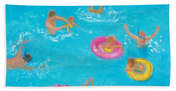 The Swimmers Beach Towel