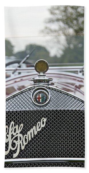 1931 Alfa Romeo Beach Towel