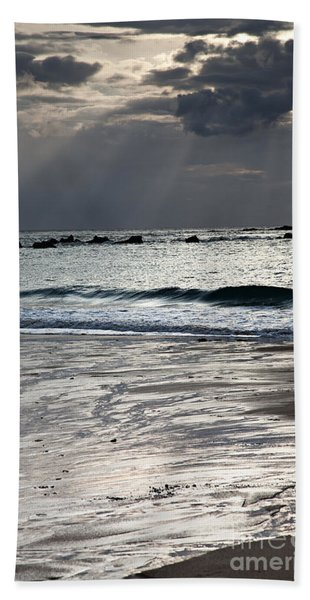 Evening At The Sea Beach Towel