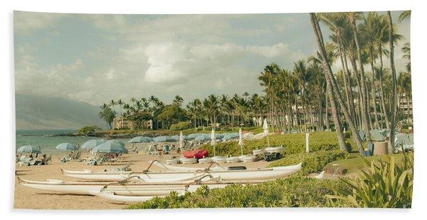 Wailea Beach Maui Hawaii Beach Towel