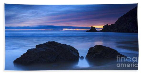 Campelo Beach Galicia Spain Beach Towel