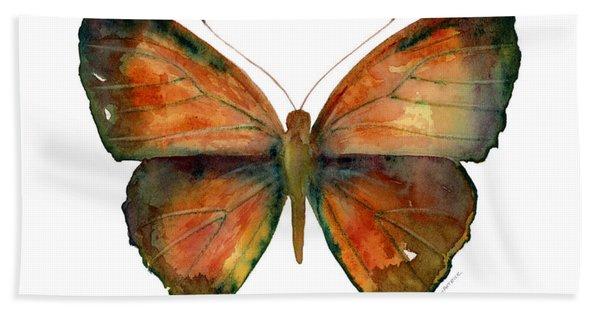 56 Copper Jewel Butterfly Beach Towel
