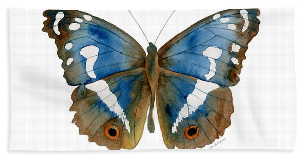78 Apatura Iris Butterfly Beach Towel