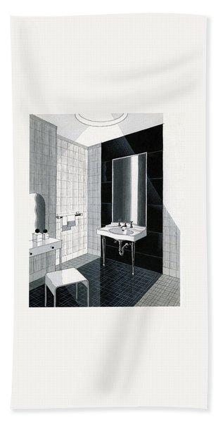 A Bathroom For Kohler By Ely Jaques Kahn Beach Towel