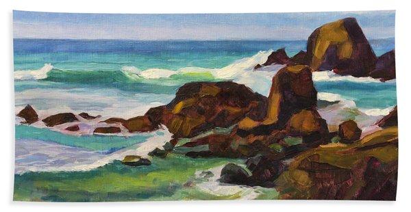 A Frouxeira Galicia Beach Towel