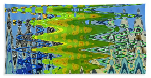 Abstract By Photoshop 1 Beach Towel