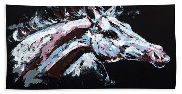 Abstract Horse Beach Sheet