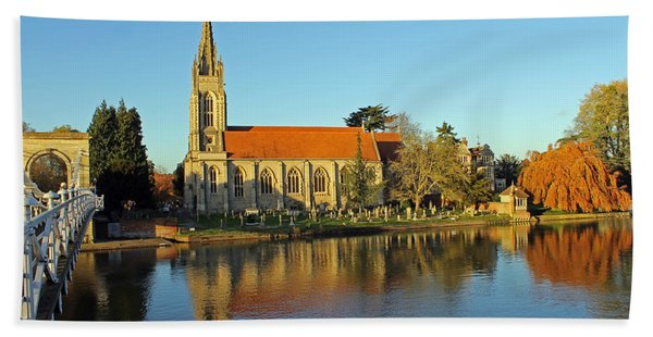 All Saints Church Marlow Beach Towel