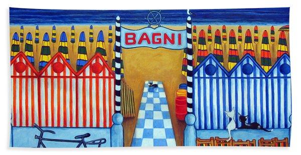 An Italian Summer's End Beach Towel