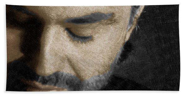 Andrea Bocelli And Square Beach Towel