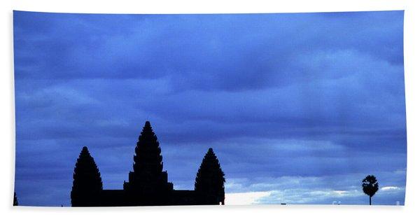 Angkor Wat Sunrise 01 Beach Towel