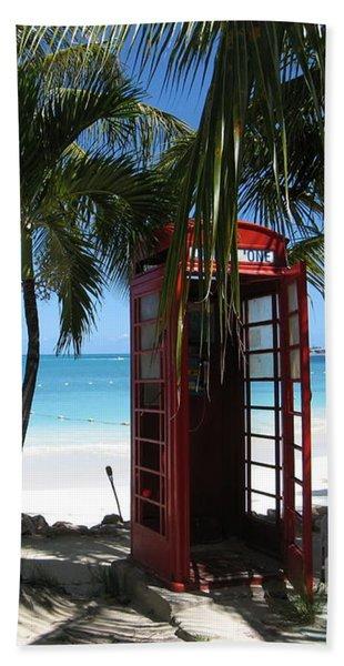 Antigua - Phone Booth Beach Towel